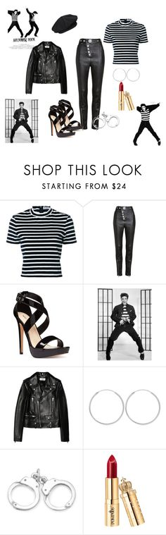 """Jailhouse Rock"" by chauert ❤ liked on Polyvore featuring T By Alexander Wang, Alexander Wang, Nine West and Yves Saint Laurent"