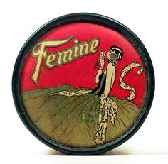Face Powder tin by Femine