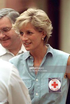 January 14, 1997: Diana, Princess of Wales in Luanda, Angola.