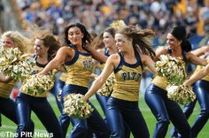 Cheer and dance teams not considered a sport by Pitt