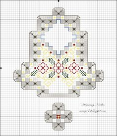 Christmas Bell Ornament & Pattern