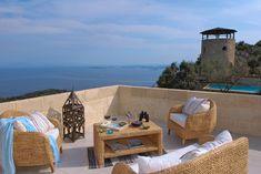 6 bedroom detached house for sale in Kerkyra, Corfu, Ionian Islands - Rightmove. Corfu Island, Corfu Greece, Outdoor Furniture Sets, Outdoor Decor, Detached House, Castle, Luxury, Villas, Home Decor