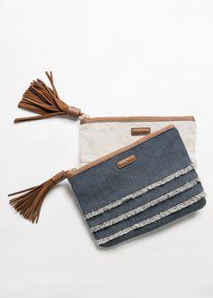 Bolso de mano con borla - Tassel bag handbag