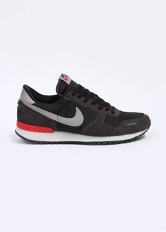 sports shoes ca558 1e86b Nike Footwear Air Vortex Retro Trainers - Black   Medium Grey - Nike  Footwear from Triads UK