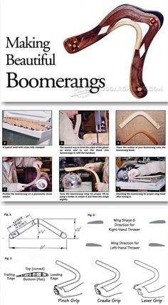 Make Boomerang - Wooden Toy Plans and Projects   WoodArchivist.com