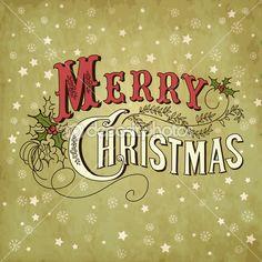 Скачать - С Рождеством Христовым надпись — стоковая иллюстрация #34452841
