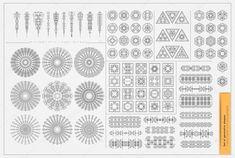 Készlet minimális geometriai alakzatok a fekete-fehér — Stock Illusztráció #97235588
