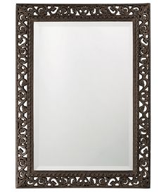 Bristol Scroll Rectangle Mirror by Howard Elliott - Home Gallery Stores