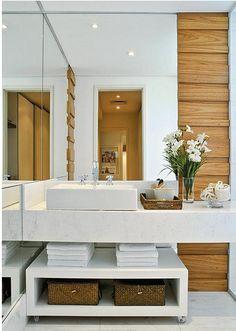 10 banheiros e lavabos pequenos