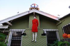West Hollywood Home Displays Halloween Effigy Of Sarah Palin Hanging