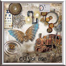 Vol. 898 - Steampunk Mix by Doudou's Design  cudigitals.com cu commercial scrap scrapbook digital graphics#digitalscrapbooking #photoshop #digiscrap