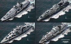ArtStation - ANNO 2205 - Enemy Warship, Sören Meding