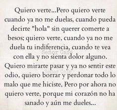 Sad Love Quotes, Real Quotes, Quotes For Him, Life Quotes, Spanish Phrases, Spanish Quotes, Poetry Quotes, Words Quotes, Quotes En Espanol