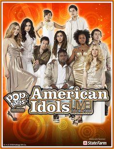 American Idol Season 7 Tour Poster