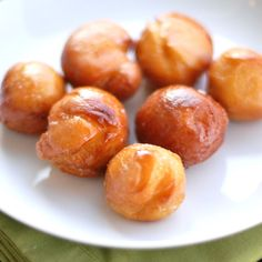 Sweet Potato Doughnuts - Not super healthy, but way healthier than processed doughnuts from Dunks.