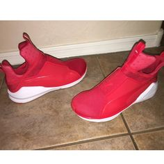 Puma Fierce Core Kylie Rihanna Sneaker Red 7 NO TRADES, No Box, Preowned- freshly cleaned, shows little wear on bottom soles Puma Shoes Sneakers