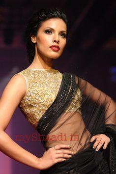 Bhairavi Jaikishan Bridal Wear collection at Lakme India Fashion Week '12 - wedding dress collection   My Shaadi