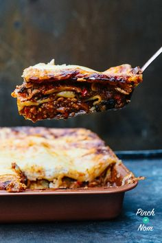 Lasagne - Pinch Of Nom Slimming Recipes Slimming World Lasagne, Slimming World Diet, Pinch Of Nom, Lasagne Recipes, Natural Yogurt, Healthy Recipes, Healthy Food, Healthy Eating, Healthy Meals