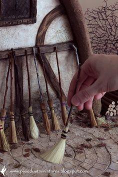 Pixie Dust Miniatures: Broom Broom...!