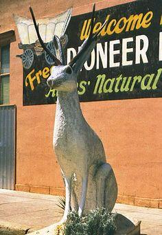 Giant jackalope statue | Douglas, Wyoming