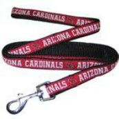 Arizona Cardinals Officially Licensed Dog Leash PRS# 10293  Phancipawsonlinepetstore.com