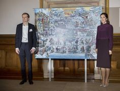 Christmas Seal 2017 at the City Hall on November 3, 2017 in Copenhagen Princess Mary attended presentation of 2017 Christmas Seal