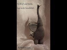 Elefant DIY Häkeln Symbol des Friedens - YouTube