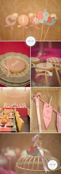 Our Lovely Pink World: Sweet, sweet Family!!!  Baby party decoration
