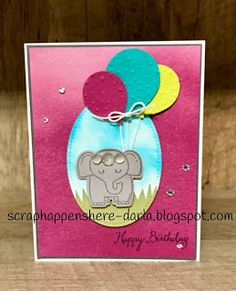 Scrap Happens Here - Stampin' Up! with Darla: A Little Wild Birthday!