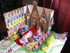 Peeps Show VI - The Washington Post.  This is an annual peeps diorama contest.  This would be such a great party idea!!!!!