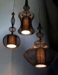 EXOTIC \\ Suspension Lighting Ideas - decor inspirations // Unique and iconic lamps