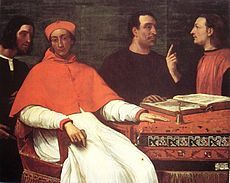 Bandinello SauliBandinello Sauli (died 1518) was an Italian Roman Catholic bishop and cardinal.