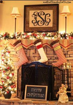 Aww for Christmas. It looks so homey