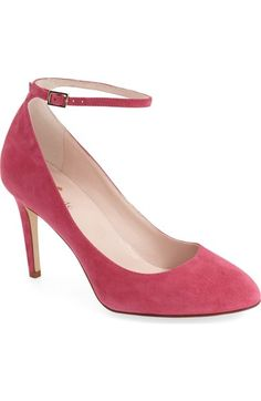 kate spade new york 'dakota' ankle strap pump (Women) available at #Nordstrom