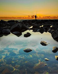 Burleigh Heads Sunrise_ by Michael Dawes Pretty Pictures, Cool Photos, Beautiful World, Beautiful Places, Salt And Water, Great View, That Way, The Great Outdoors, Wonders Of The World