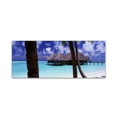 The Bar-Gili Lankanfushi by David Evans Photographic Print on Wrapped Canvas