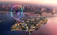 Revealed: The world's largest Ferris wheel nears completion http://www.telegraph.co.uk/travel/destinations/middle-east/united-arab-emirates/dubai/articles/ain-dubai-worlds-largest-ferris-wheel-nears-completion/