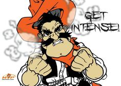 Pistol Pete, OSU...new semester!!