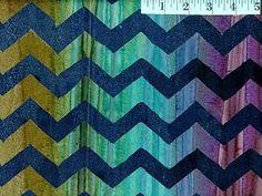 Navy Lightning Batik