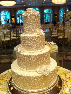 How sweet! (our wedding cake)