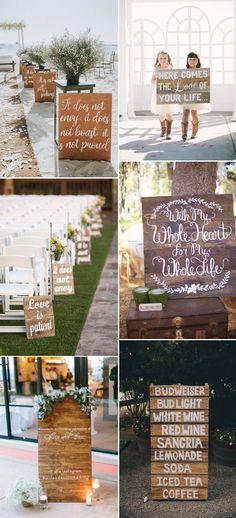 wood palette decor ideas for weddings