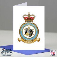 RAF Digby Station Crest Presentation Posting Promotion Retirement Card Gift