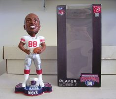 Hakeem Nicks New York Giants bobblehead doll - Limited Edition Super Bowl  46 Exclusive - 6cf70608b