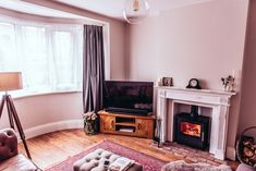 How we transformed our living room from 'grantastic' to fantastic. We hope that our makeover inspires you with your renovation. Before After Home, Before And After Pictures, 1930s Living Room, Alcove Shelving, Open Plan Kitchen Diner, 1930s House, Home Safes, Other Rooms, Living Room Designs