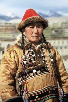 Telengit man from Altai region