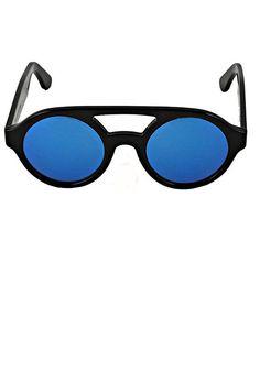 Sunglasses - Black/Multilayer Blue BUY IT NOW ON www.dezzy.it!