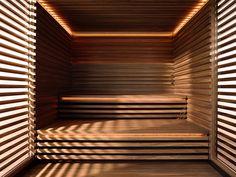 KLAFS - COM - saunas, steam baths, infrared heat cabins, spas and well-being Sauna Steam Room, Sauna Room, Piscina Spa, Sauna Heater, Sauna Design, Outdoor Sauna, Spa Interior, Spa Rooms, Infrared Sauna