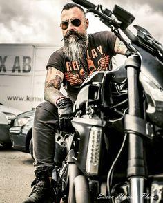 Untitled Motorcycle Photography, Photography Poses For Men, Motorcycle Men, Motorcycle Style, Harley Davidson, Biker Photoshoot, Hot Guys Tattoos, Old Motorcycles, Harley Bikes