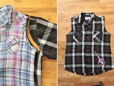 Learn how to take in a shirt to make it smaller the right way with this easy step by step sewing tutorial and instructions. How to alter a shirt.
