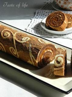 Taste of life: Rolat sa dekorisanim biskvitom